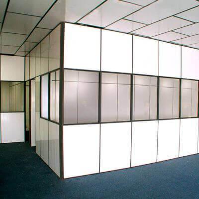 Divisória de escritório Eucatex em Taubaté