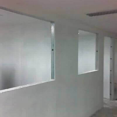 Divisória de gesso drywall em Taubaté