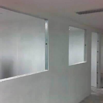 Divisória de Gesso Drywall